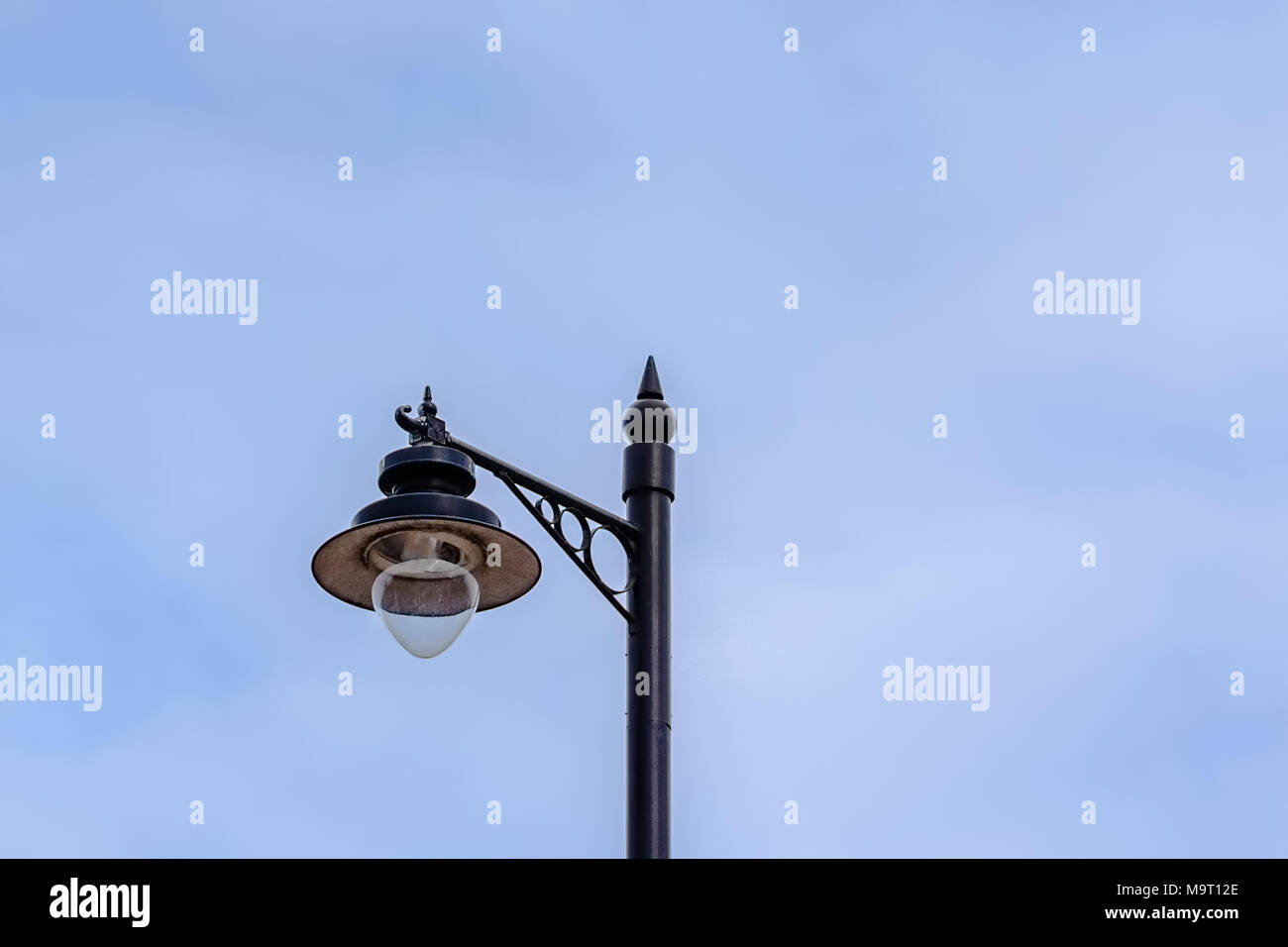 old fashioned lighting fixtures. A Typical Lamp Post Now Found In Many Scottish Towns And Villages Agianst Light Blue Old Fashioned Lighting Fixtures U