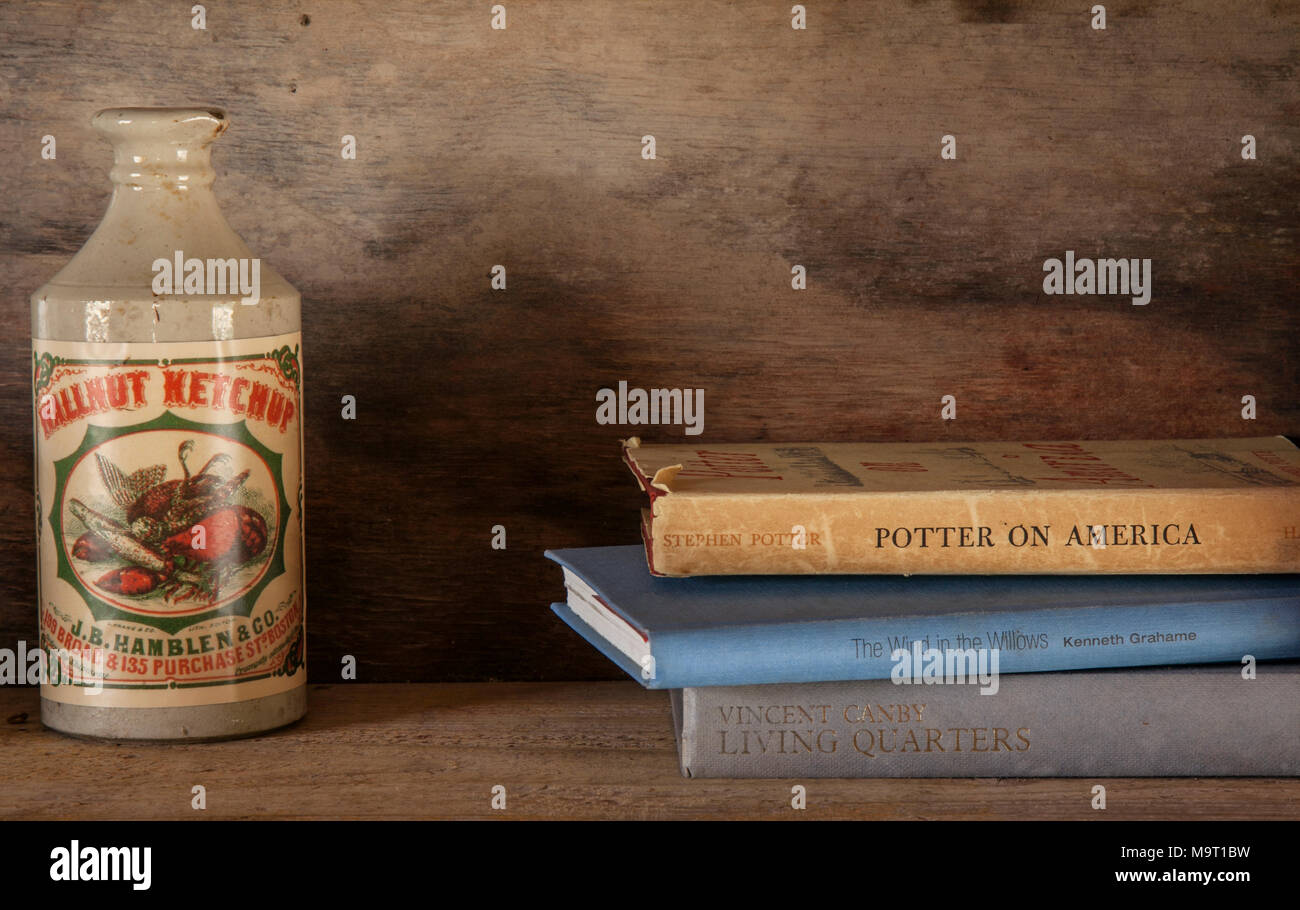 Vintage, antique, American yesteryear memorabilia, UK - Stock Image