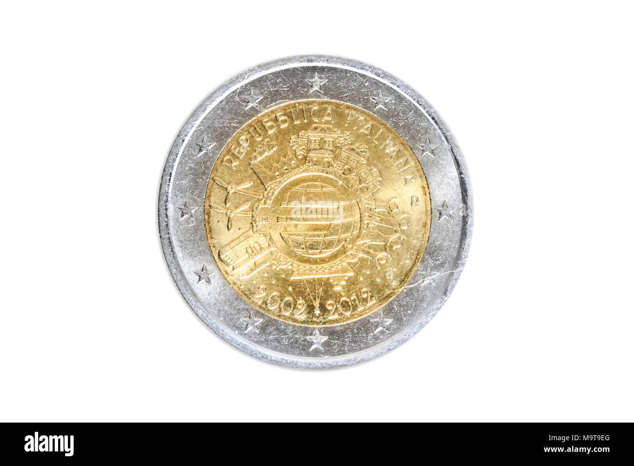 Italian Euro Coins Stock Photos & Italian Euro Coins Stock Images - Alamy