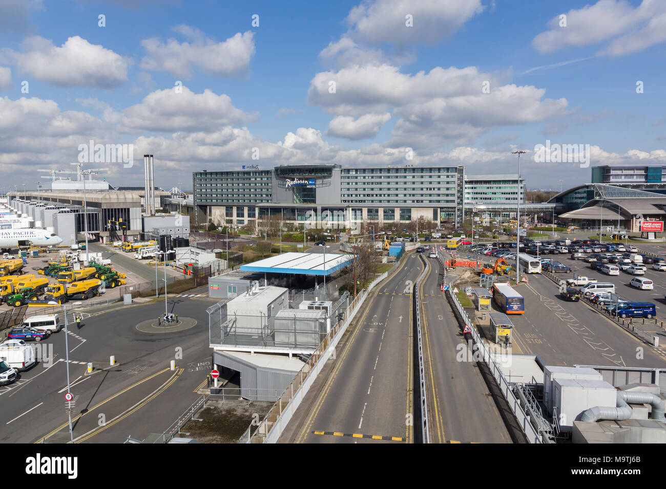Terminal manchester airport england holiday stock photos terminal radisson blu one of 287 hotels operated by the carlson rezidor hotel group this one is kristyandbryce Image collections