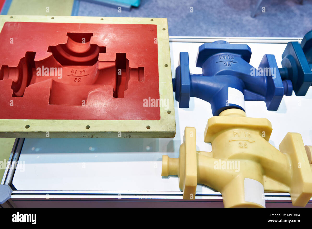 Molds for casting and plastic products - Stock Image