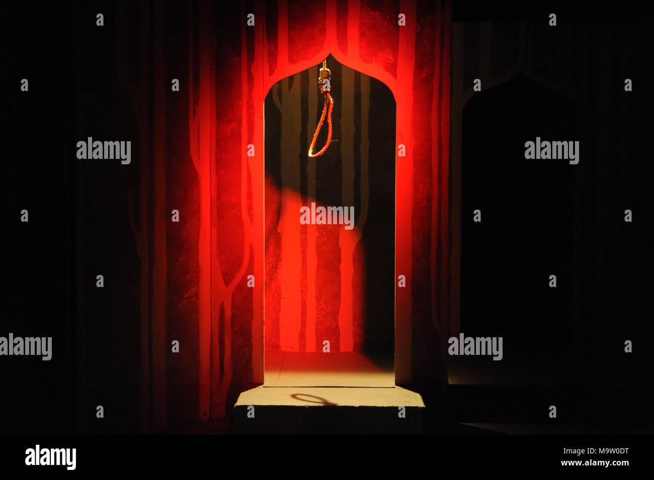 Hang Mans Noose - Stock Image