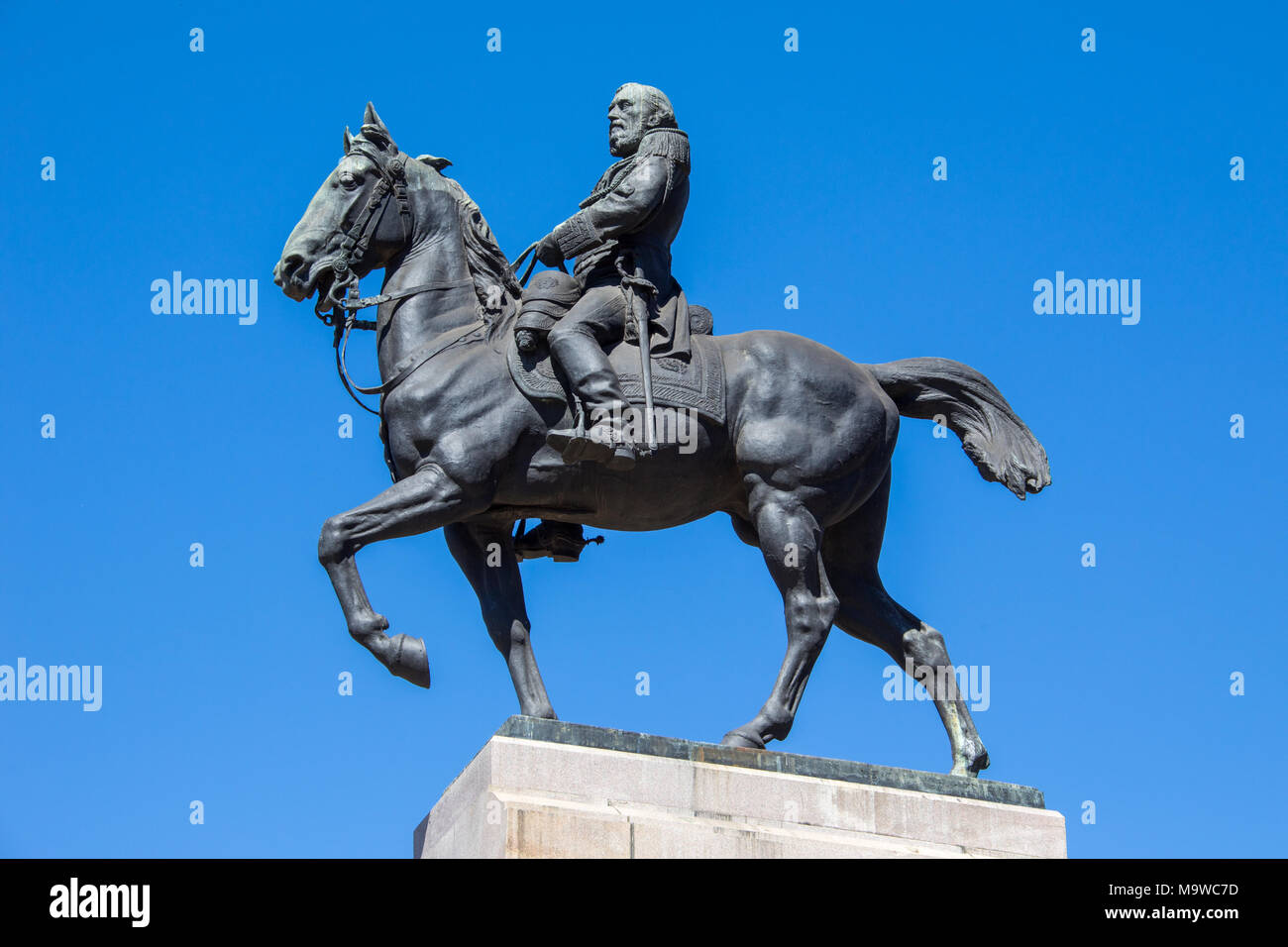 General José de San Martin, Plaza San Martin, Retiro, Buenos Aires, Argentina - Stock Image