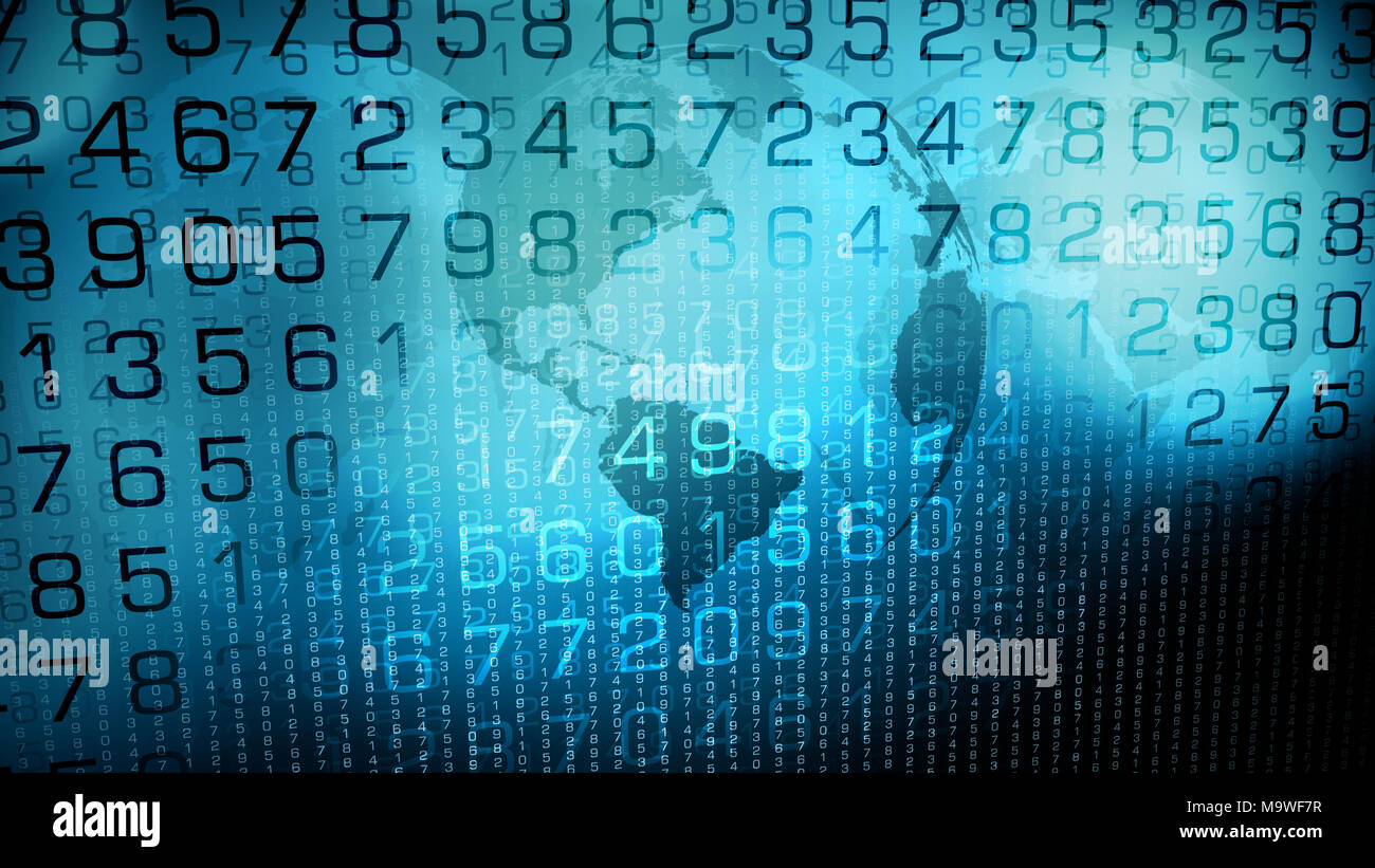 International cyber network creative technology Stock Photo