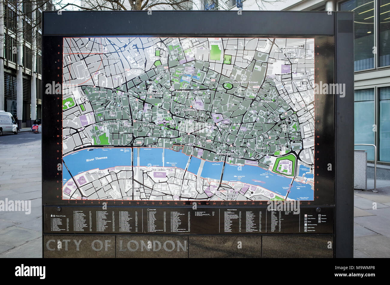 London Street Map Stock Photos & London Street Map Stock Images - Alamy