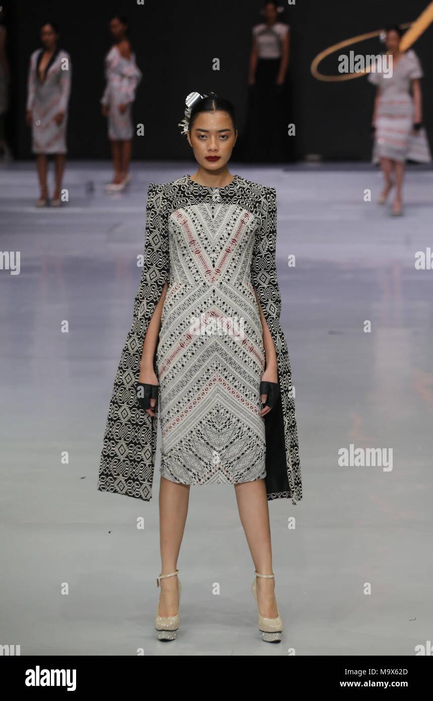 February 13 2018 Jakarta Jakarta Indonesia Fashion Indonesia World Re Enlivened By Organized Indonesia Fashion Week