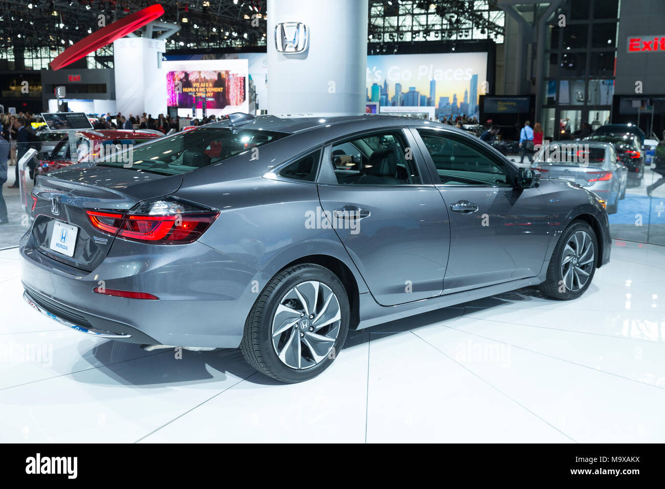 New York USA 28th Mar 2018 Honda Insight 2019 Sedan On Display At International Auto Show Jacob Javits Center Credit Lev Radin Alamy
