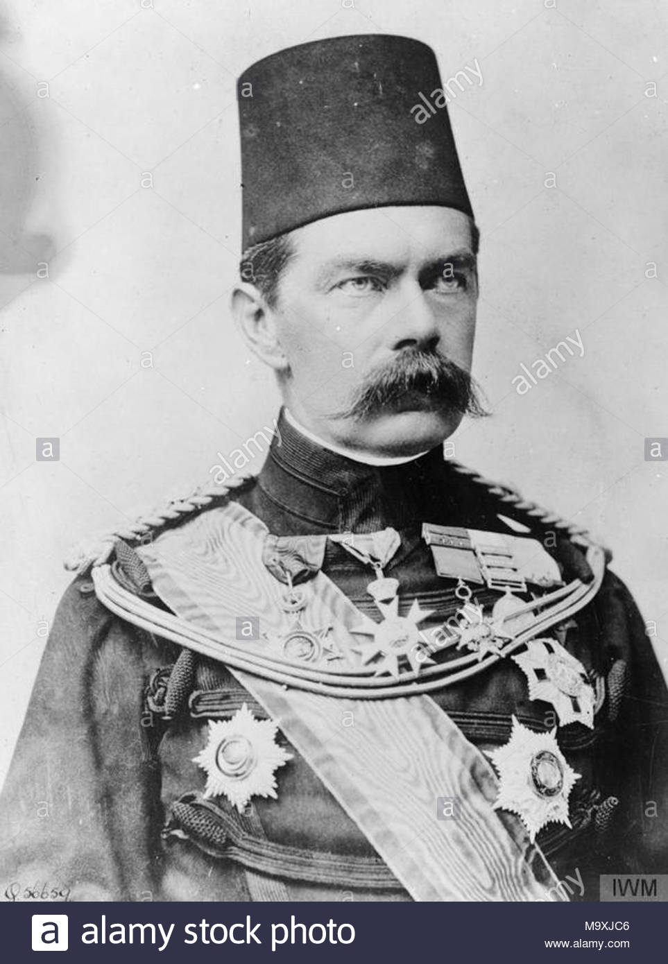 Lord Kitchener Kitchener As Sirdar At His Stock Photos & Lord ...