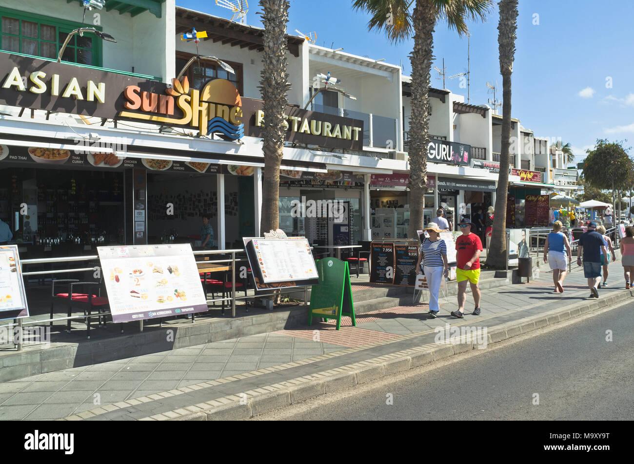 Puerto del carmen cafe stock photos puerto del carmen cafe stock images alamy - Lanzarote walks from puerto del carmen ...