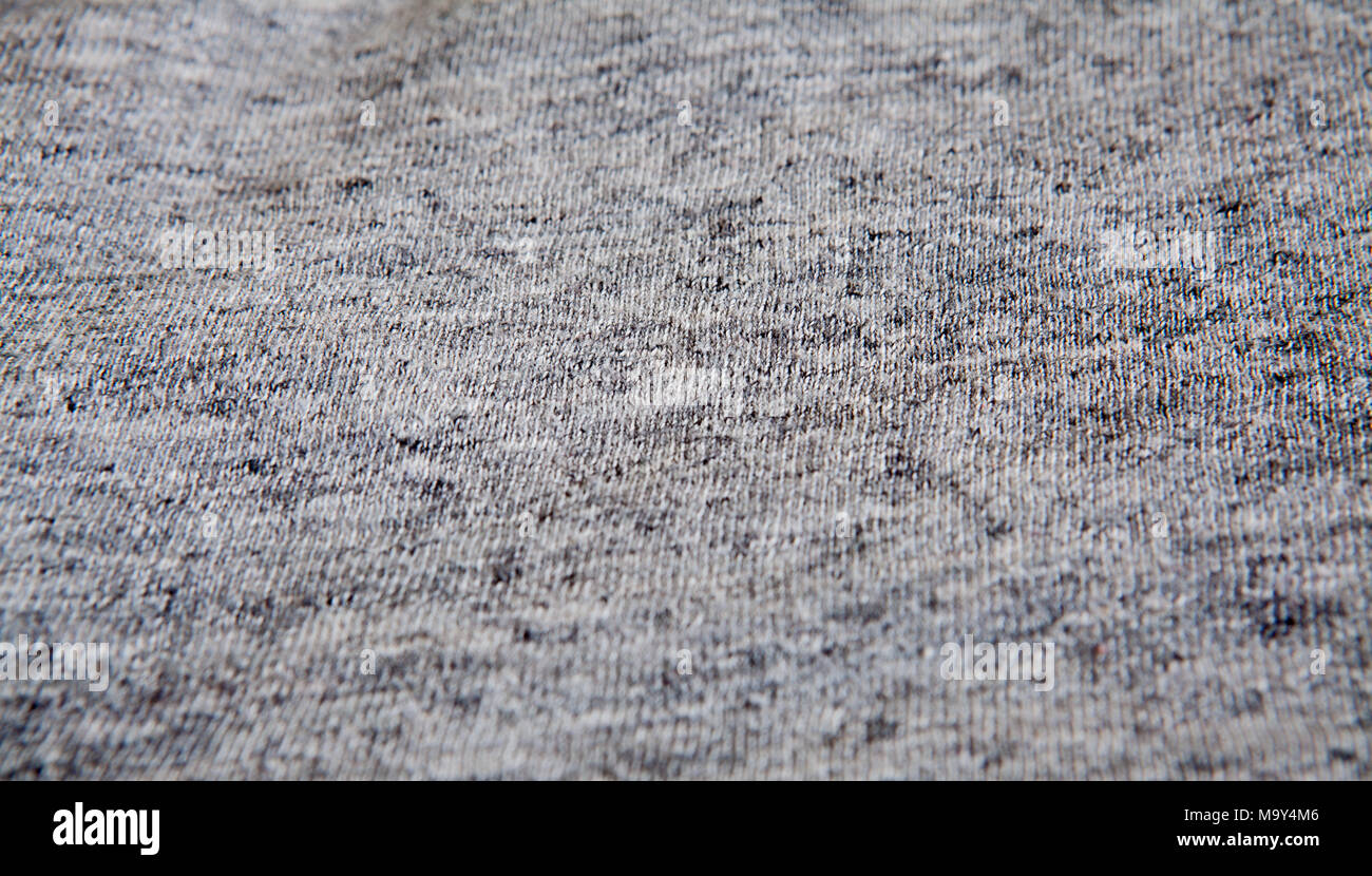 d91a8bb9b44 Real heather grey knitted fabric made of synthetic fibres textured  background. - Stock Image