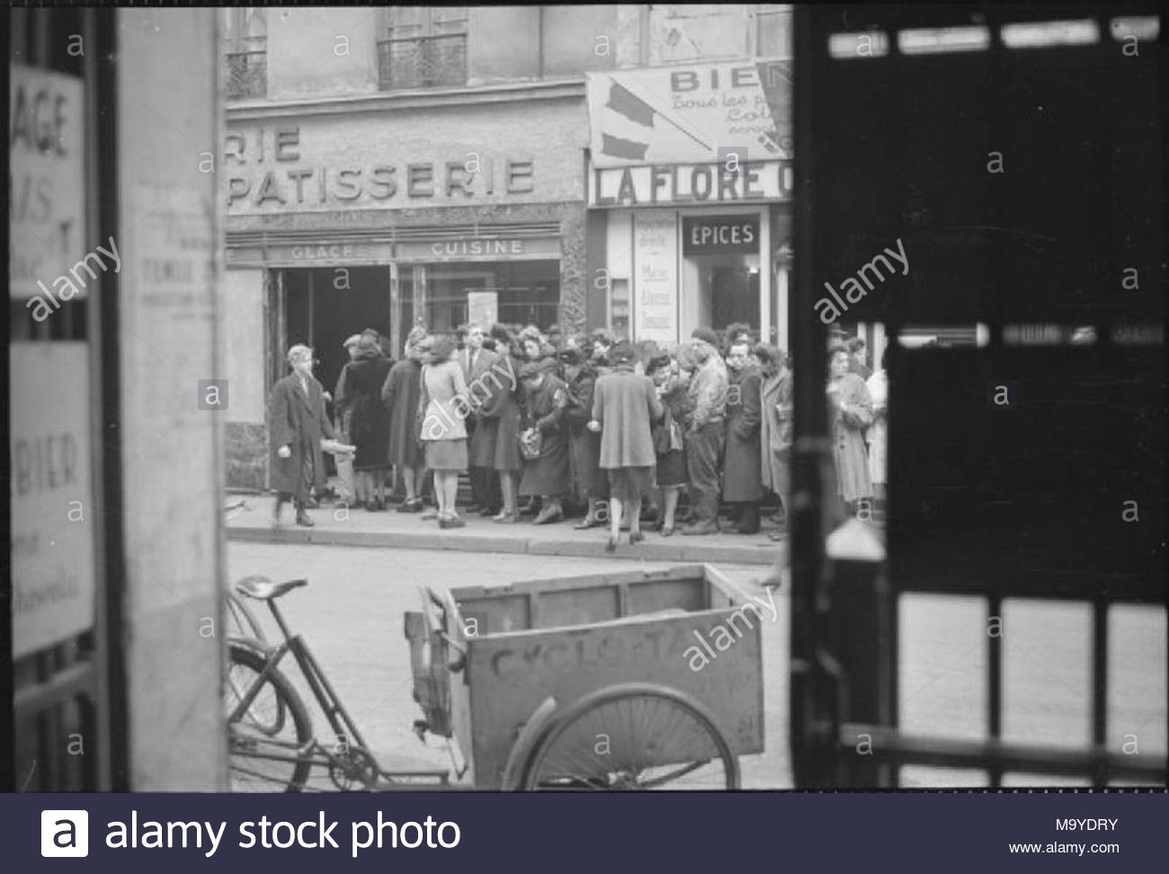 France 1945 A large group of