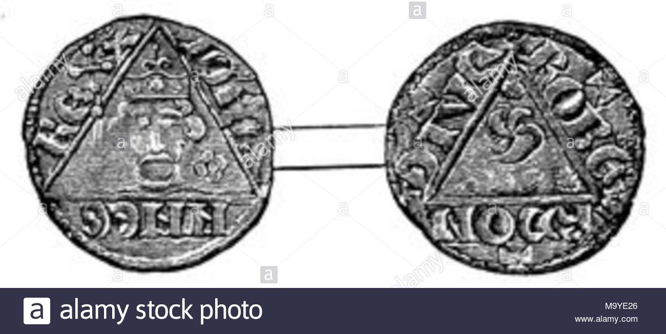 A Silver Penny Of John Struck At Dublin