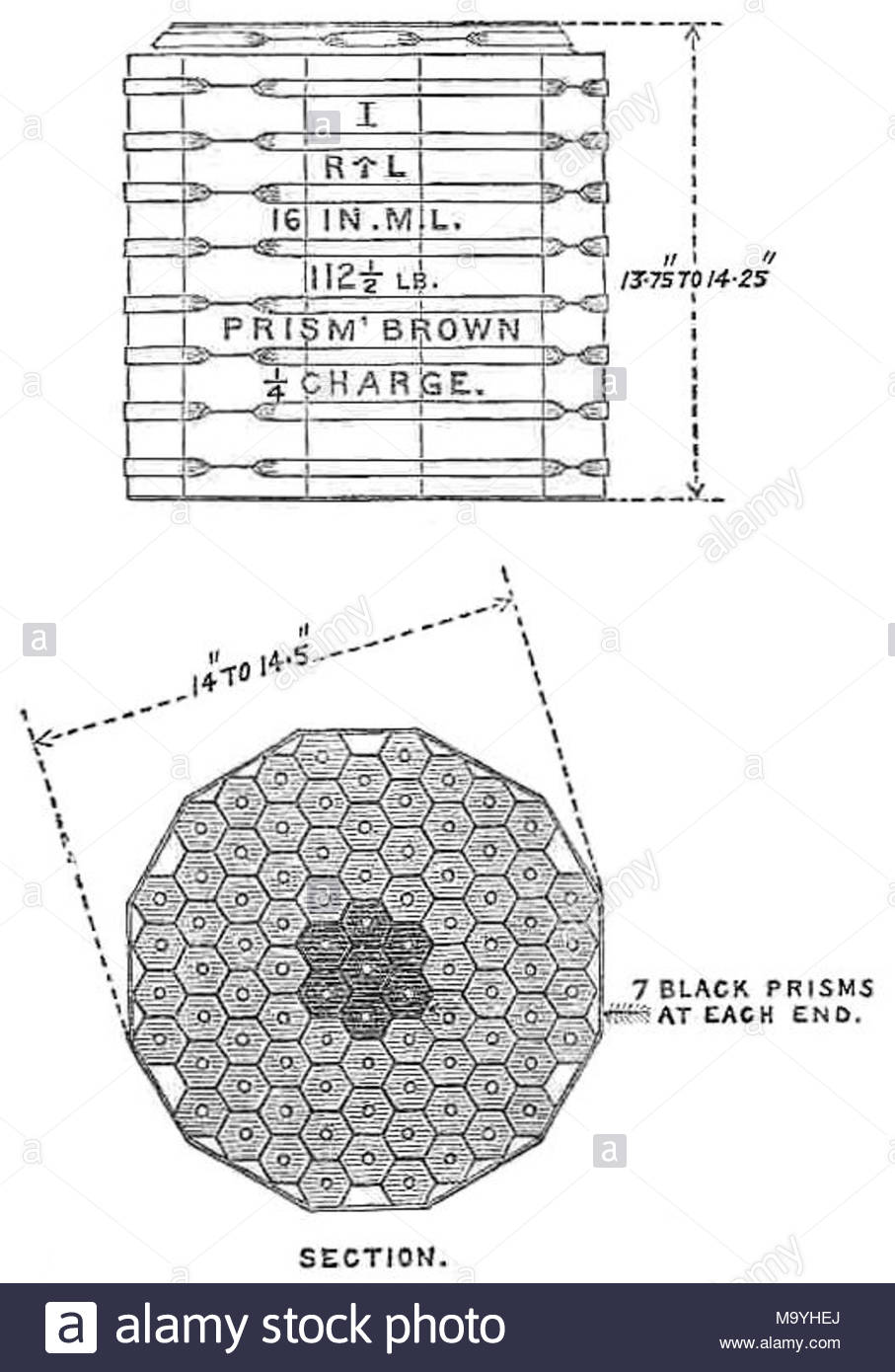 80 Ton Stock Photos Images Alamy Potato Gun Diagram Of 1125 Lb Charge Prism Brown Powder Cartridge For British Rml 16