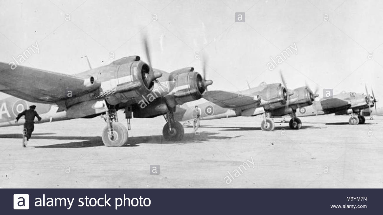 Royal Canadian Air Force Bristol Beaufighter TF.Xs of No