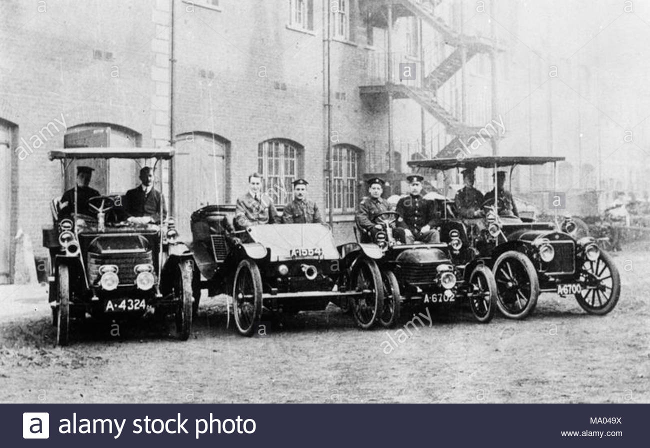 The British Army Cars Prior To the First World War Light car ...