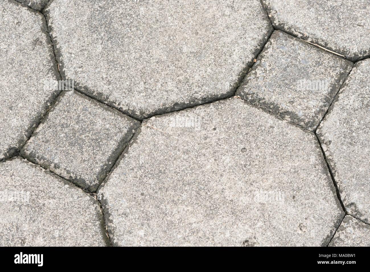 Texture cement sidewalk stock photos texture cement for Concrete block floor
