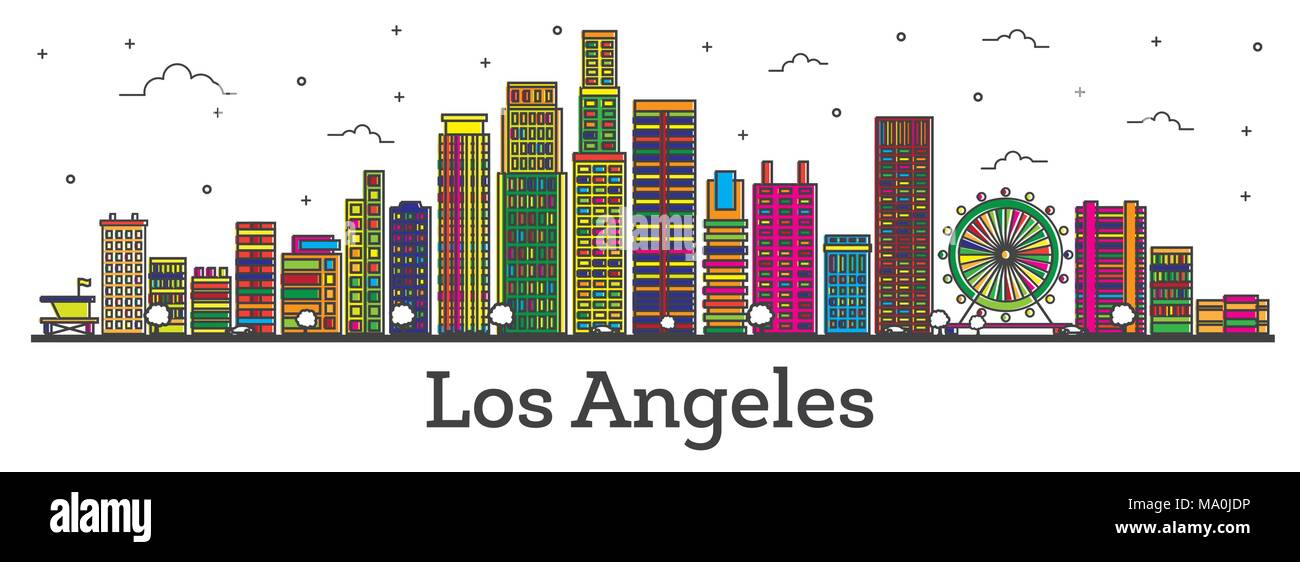 Downtown Los Angeles Cut Out Stock Images Amp Pictures Alamy