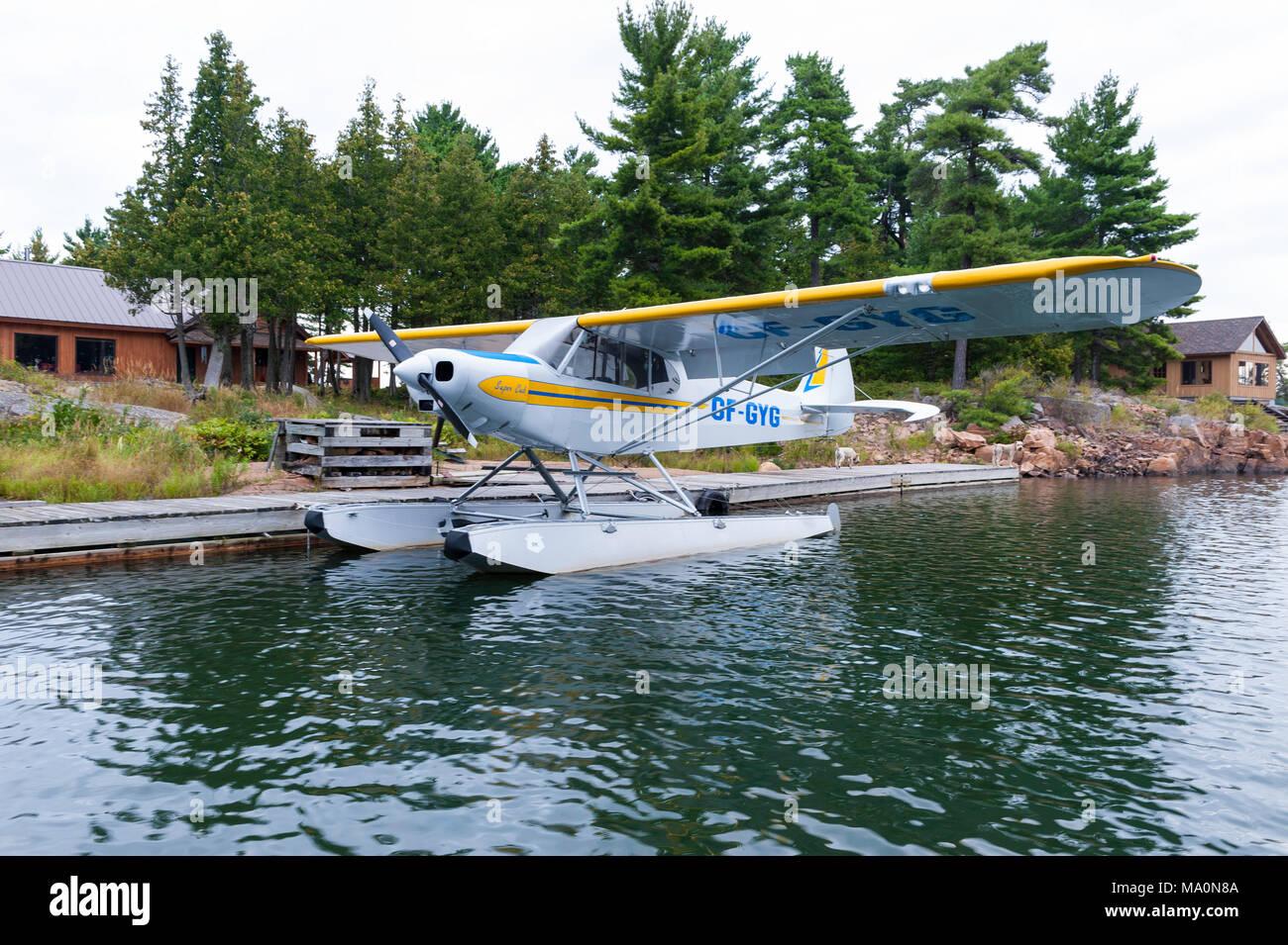 The Piper PA-18 Super Cub - Stock Image