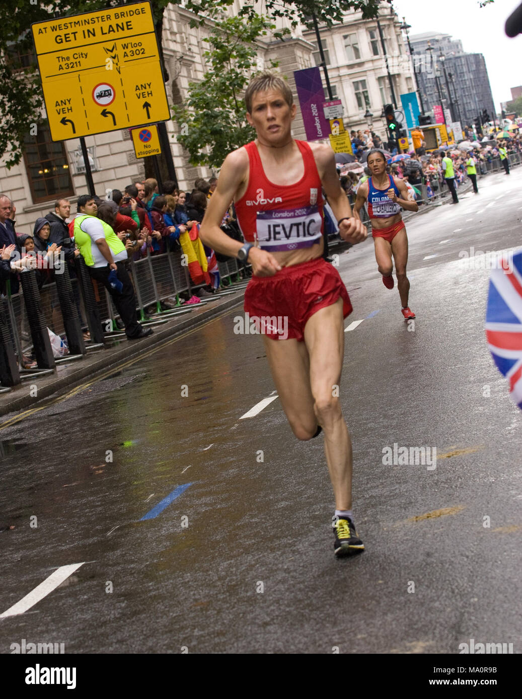 Olympic Games - London 2012 - Women's Marathon Race - Stock Image