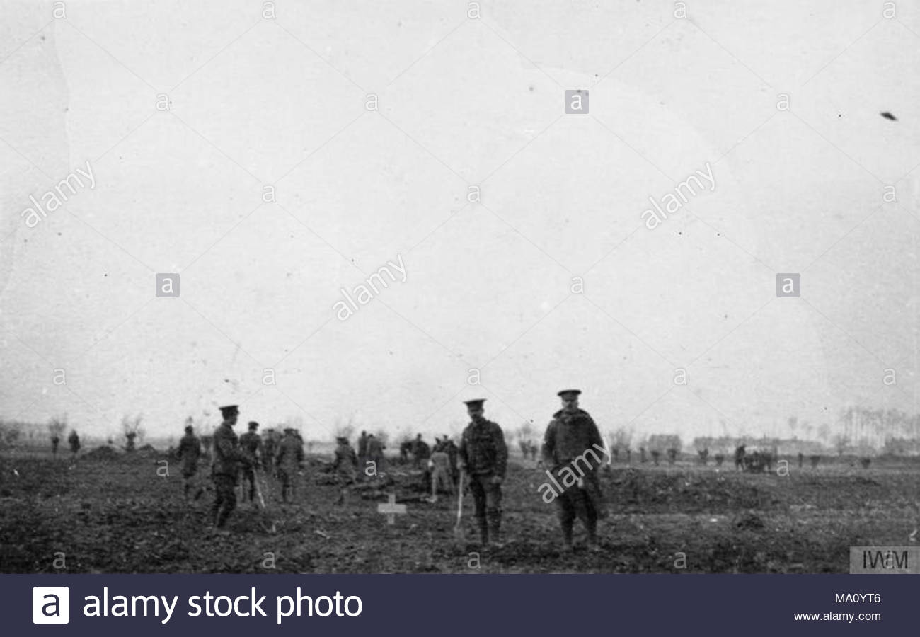 The Christmas Truce on the Western Front, 1914 British and German ...