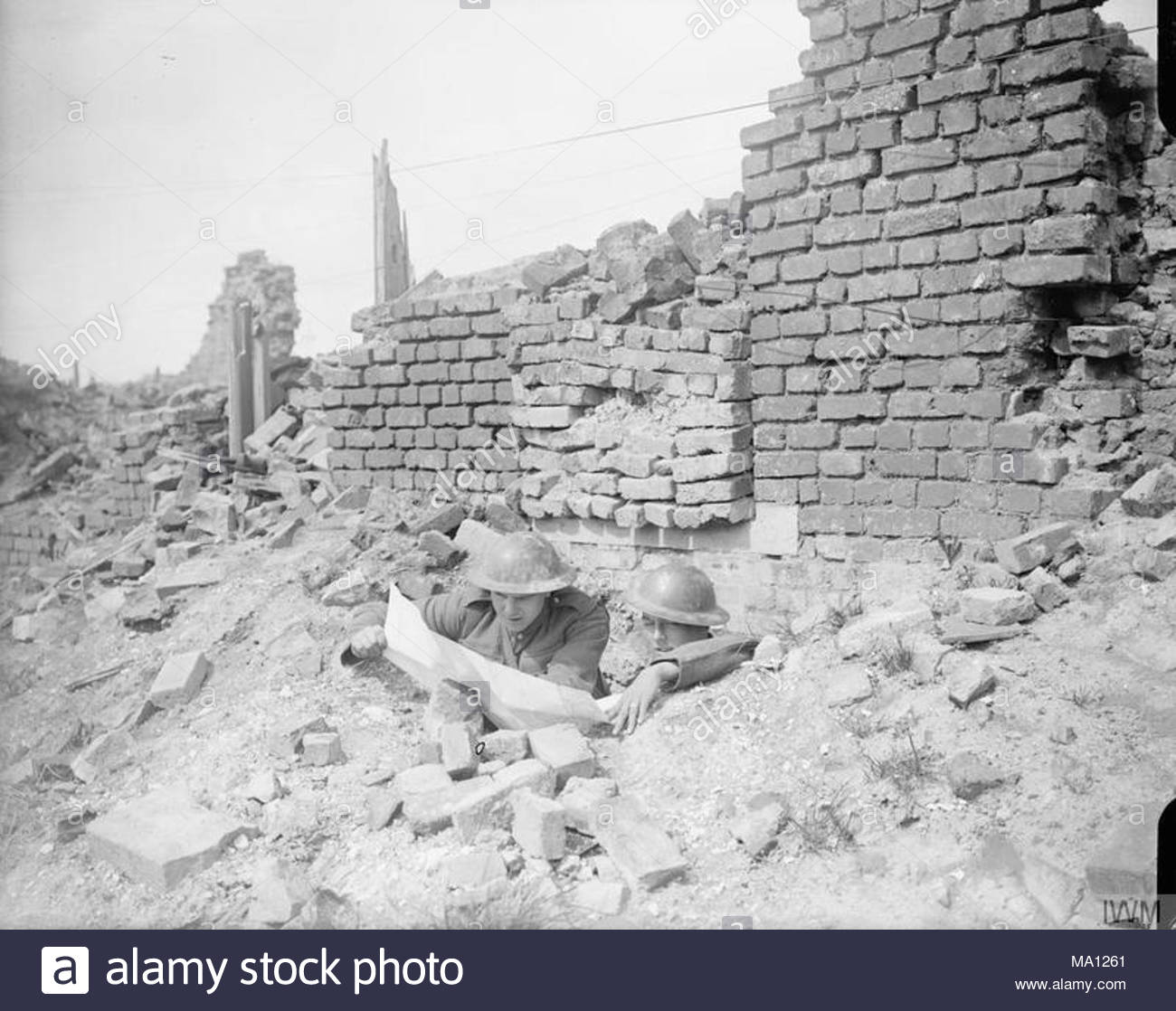 The German Spring Offensive March July 1918 Two Men Of The King S