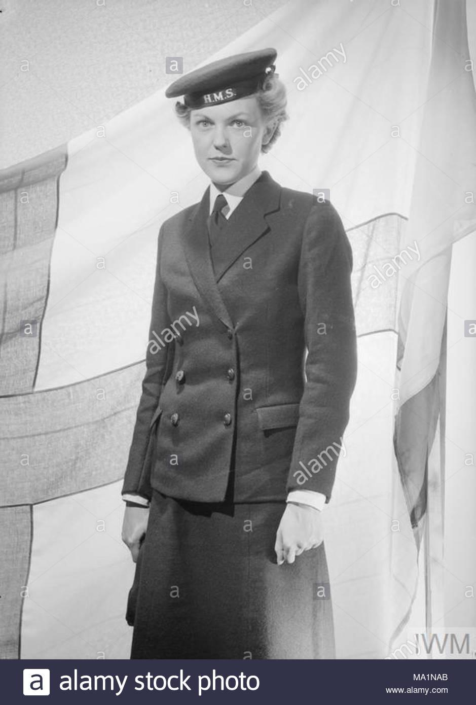 e1d14295594 Womens Royal Navy Service Stock Photos   Womens Royal Navy Service ...