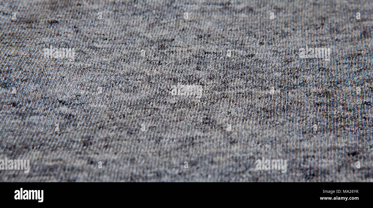 63708361d62481 Real heather grey knitted fabric made of synthetic fibres textured  background. - Stock Image
