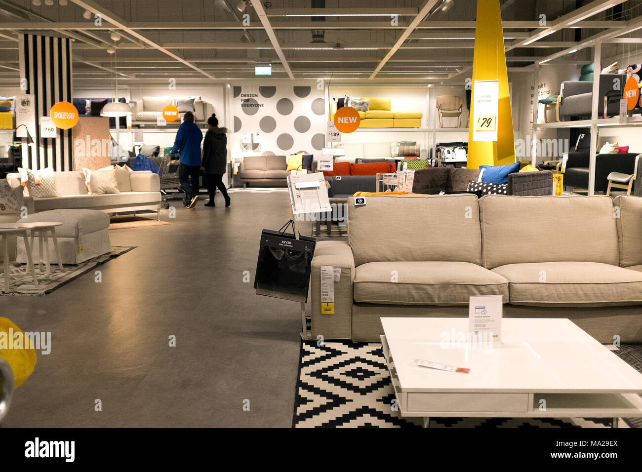 Ikea Customers Stock Photos Ikea Customers Stock Images Alamy