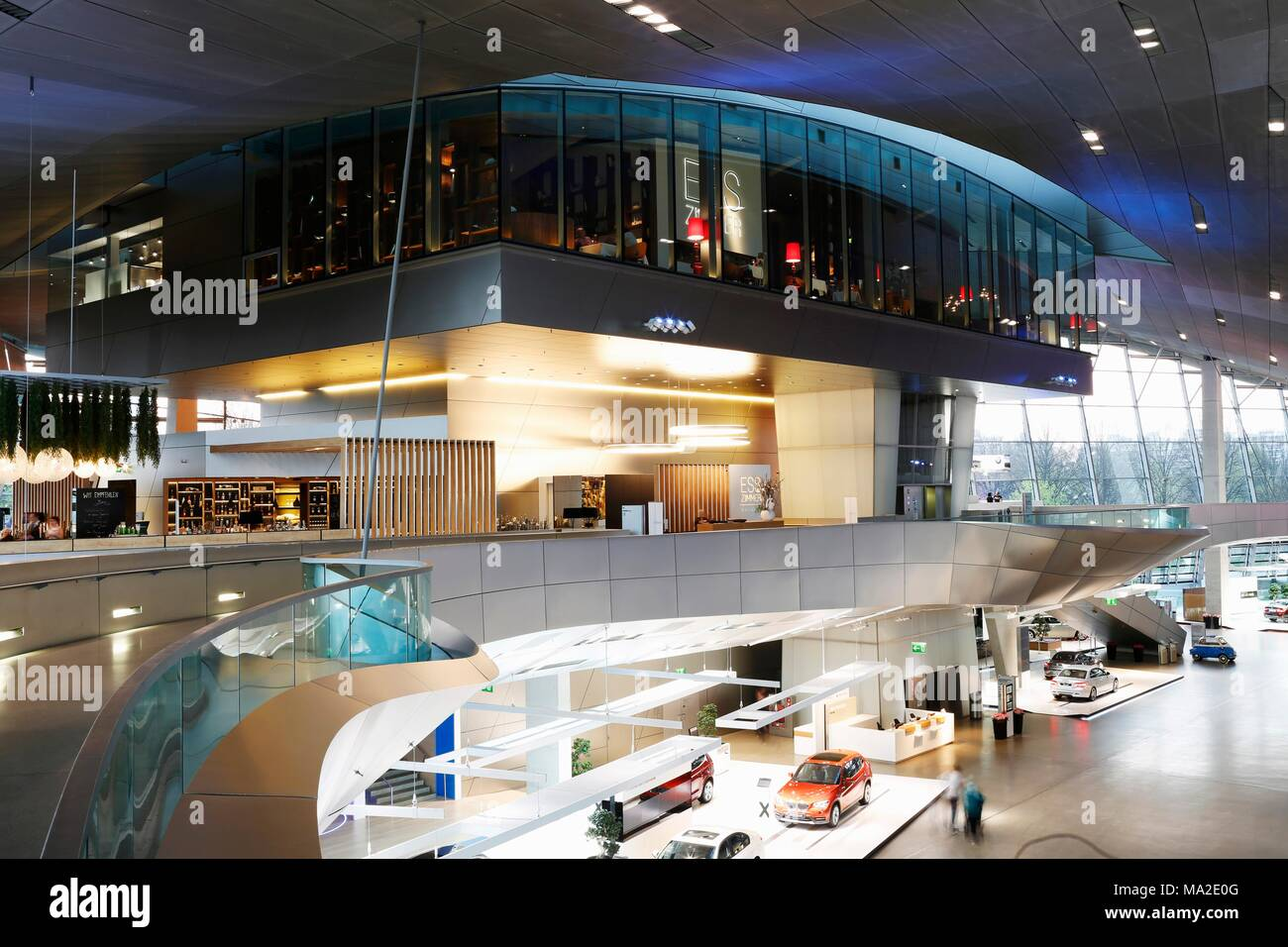 bmw world interior stock photos bmw world interior stock images alamy. Black Bedroom Furniture Sets. Home Design Ideas