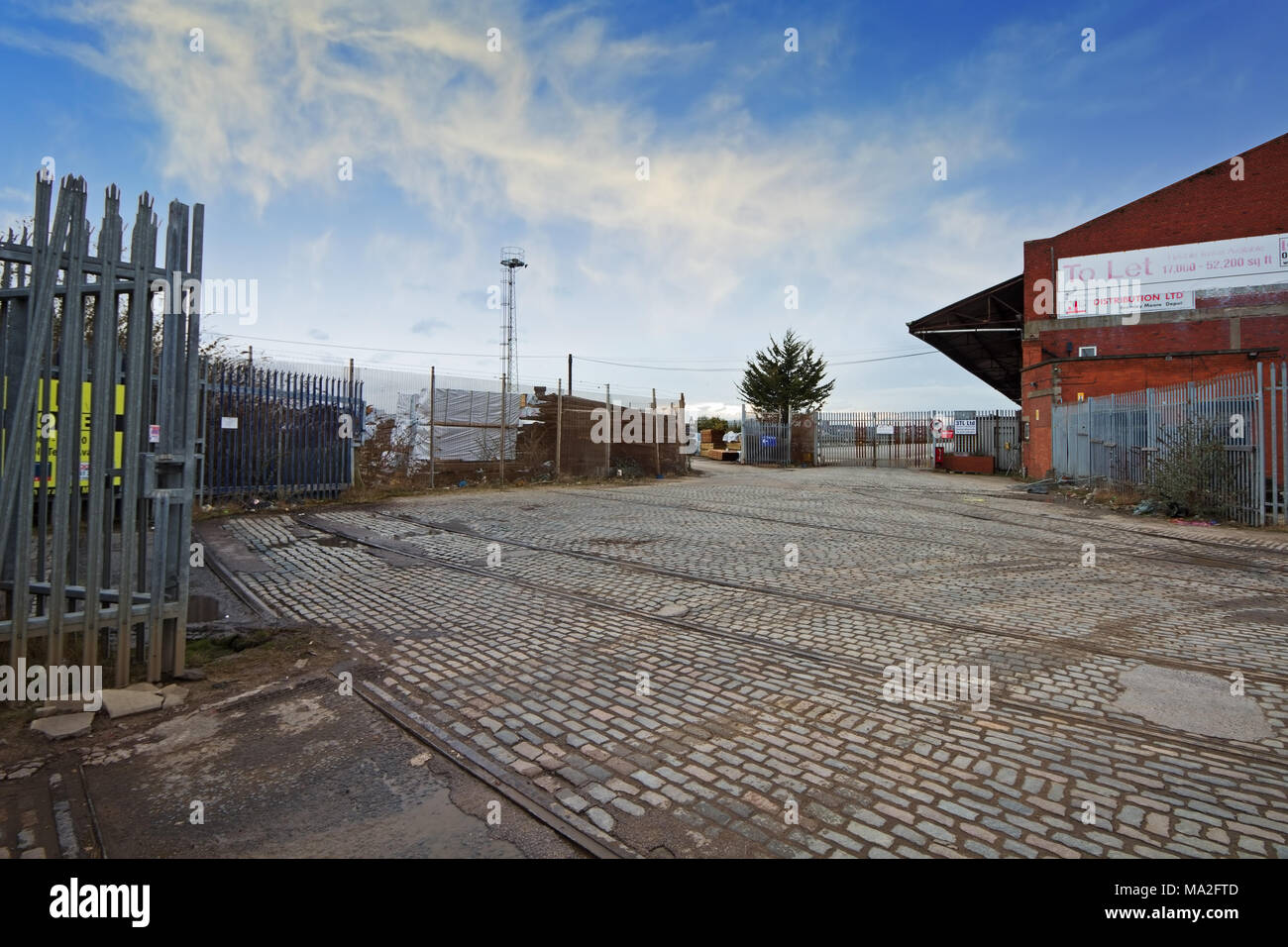 Bramley Moore Dock In Liverpool Where Everton Fc Plan To Build A New Stadium Stock Photo Alamy