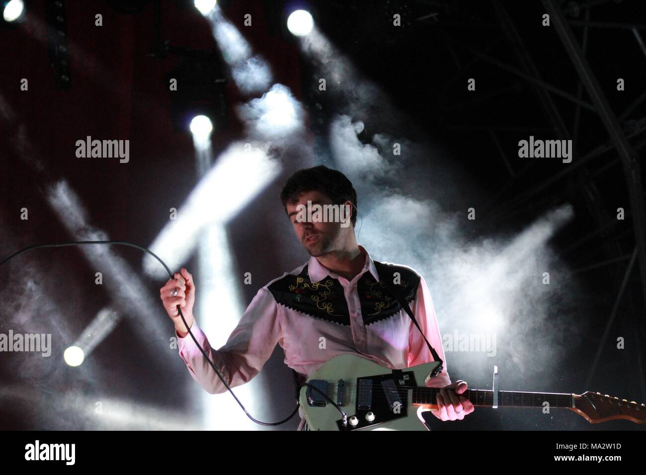 The Vaccines play live at Truck Festival - Stock Image