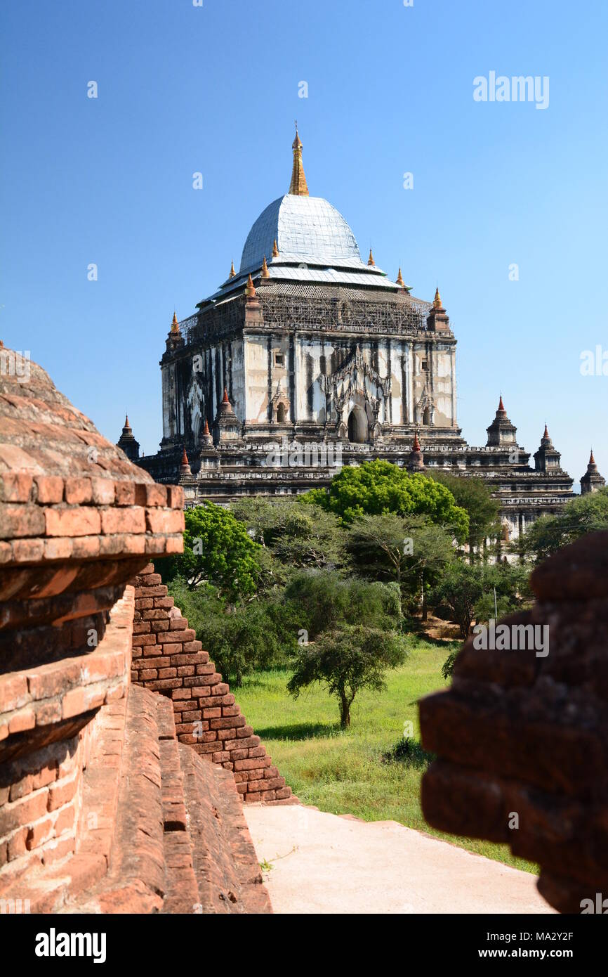 Thatbyinnyu temple. Bagan. Mandalay region. Myanmar - Stock Image
