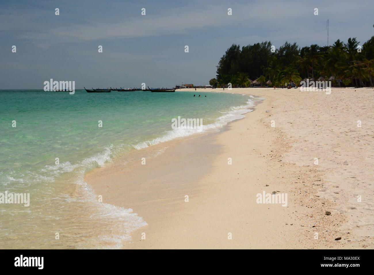 Sunrise Beach. Koh Lipe. Tarutao national marine park. Satun province. Thailand - Stock Image
