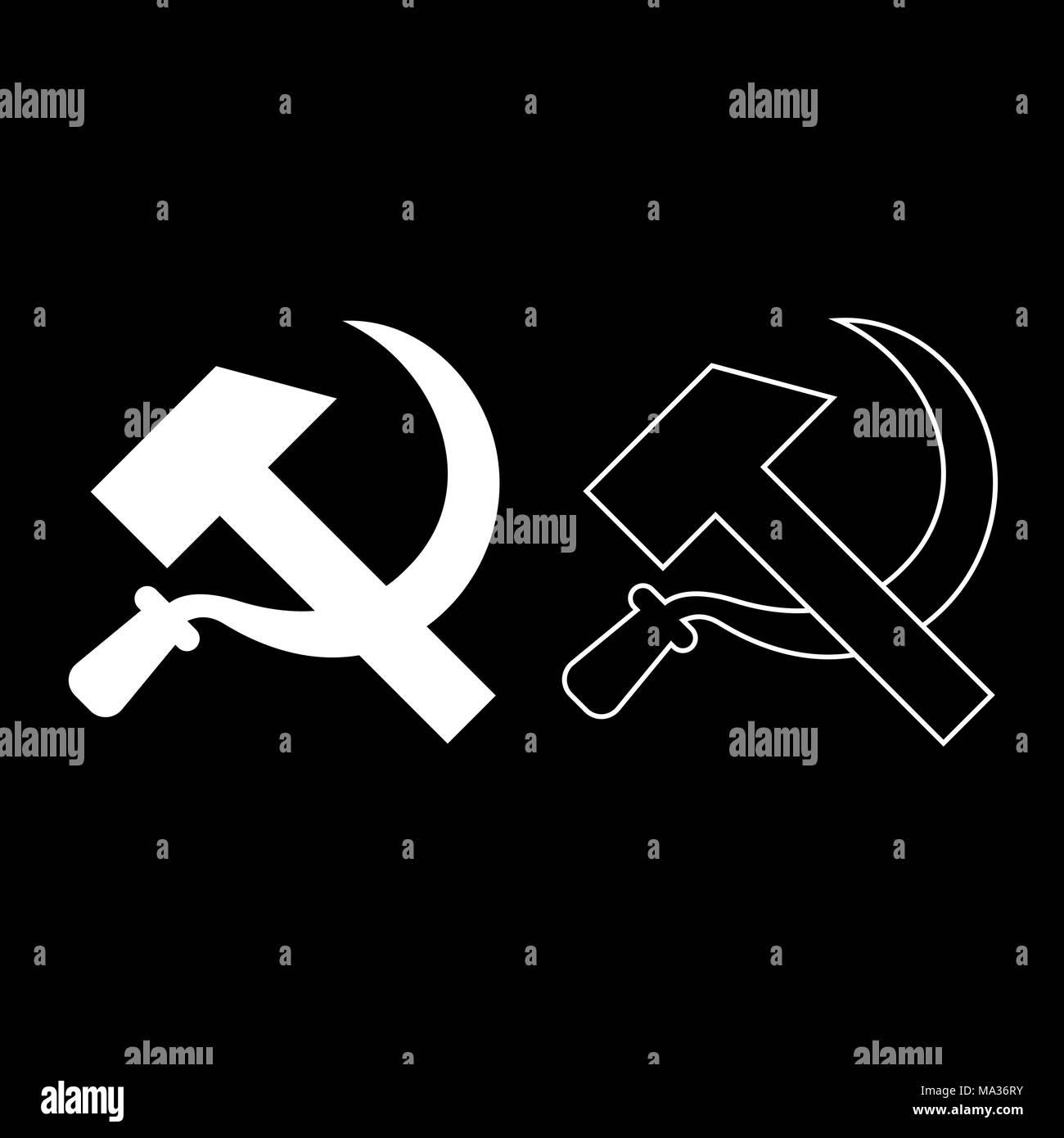 Vector Illustration Hammer: Communist Vector Vectors Stock Photos & Communist Vector