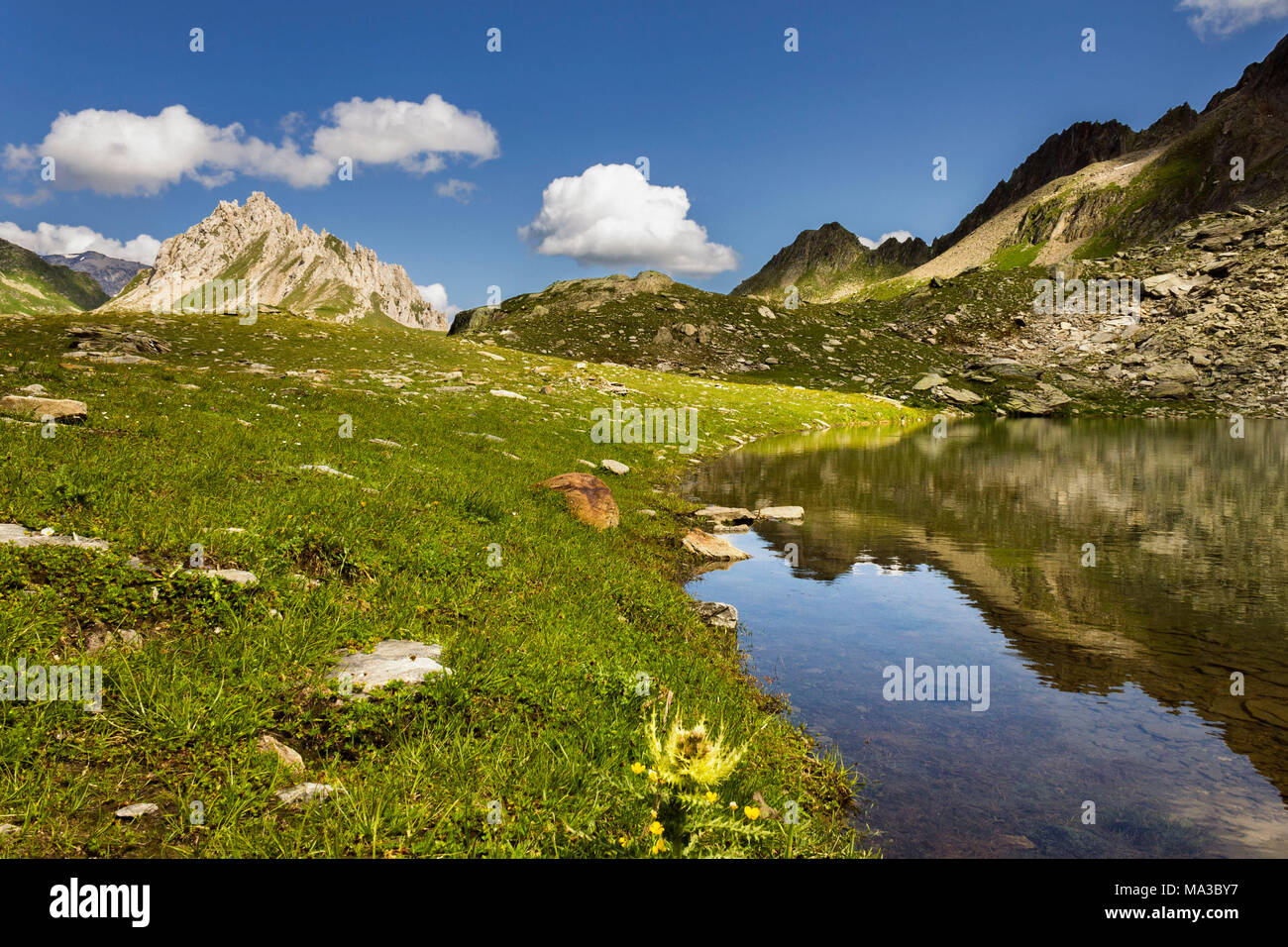Switzerland Ticino Olivone Stock Photos Switzerland Ticino Olivone