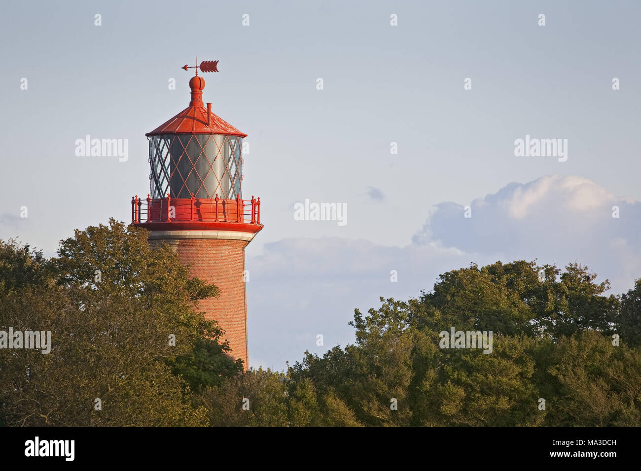 Lighthouse Staberhuk, island Fehmarn, Schleswig - Holstein, North Germany, Germany, Stock Photo