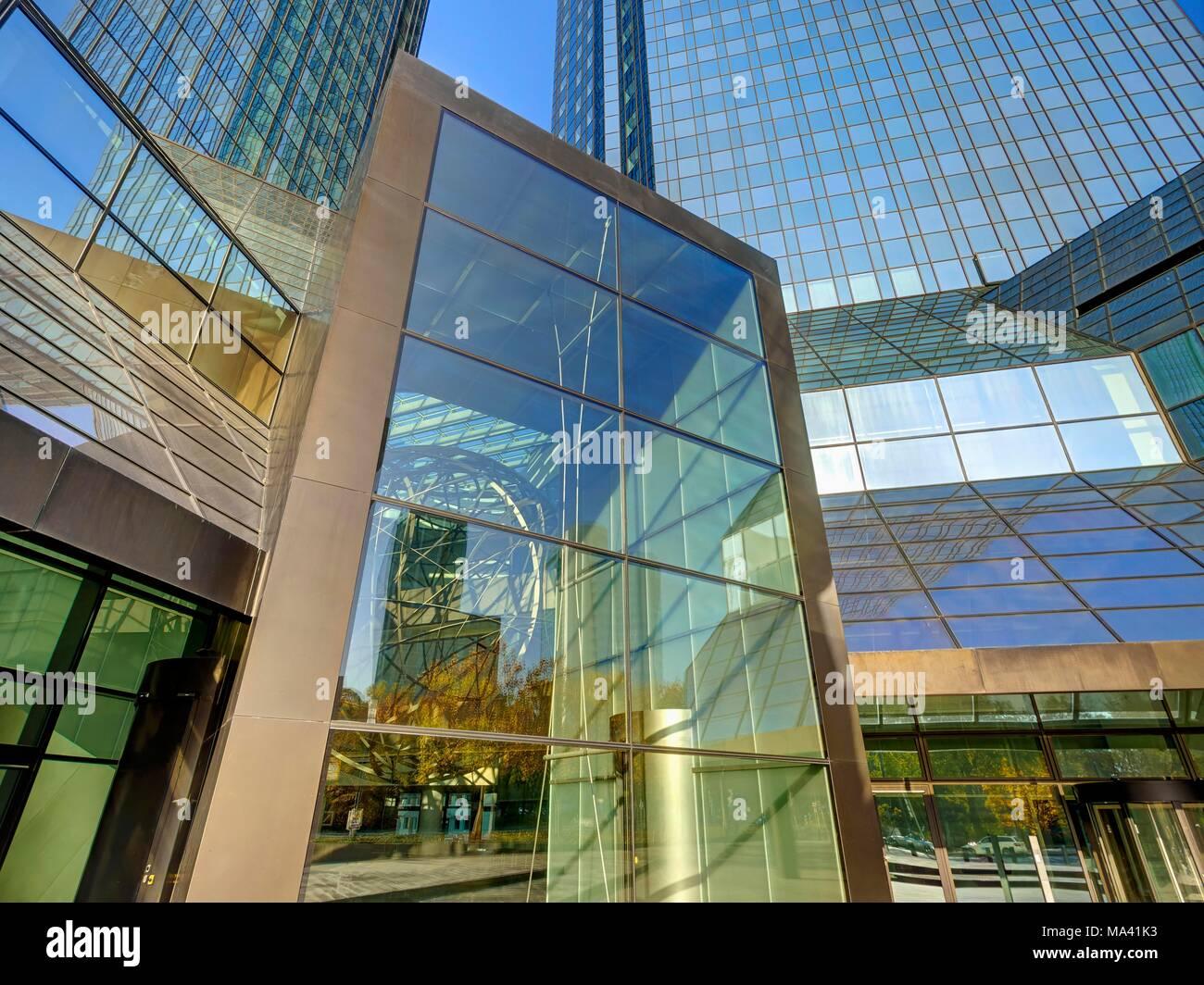 Deutsche Bank, Frankfurt am Main, Germany Stock Photo