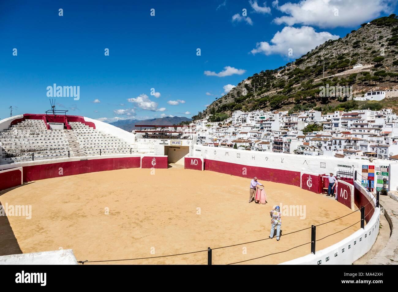 The bull fighting arena in Mijas Pueblo, Andalusia (Spain