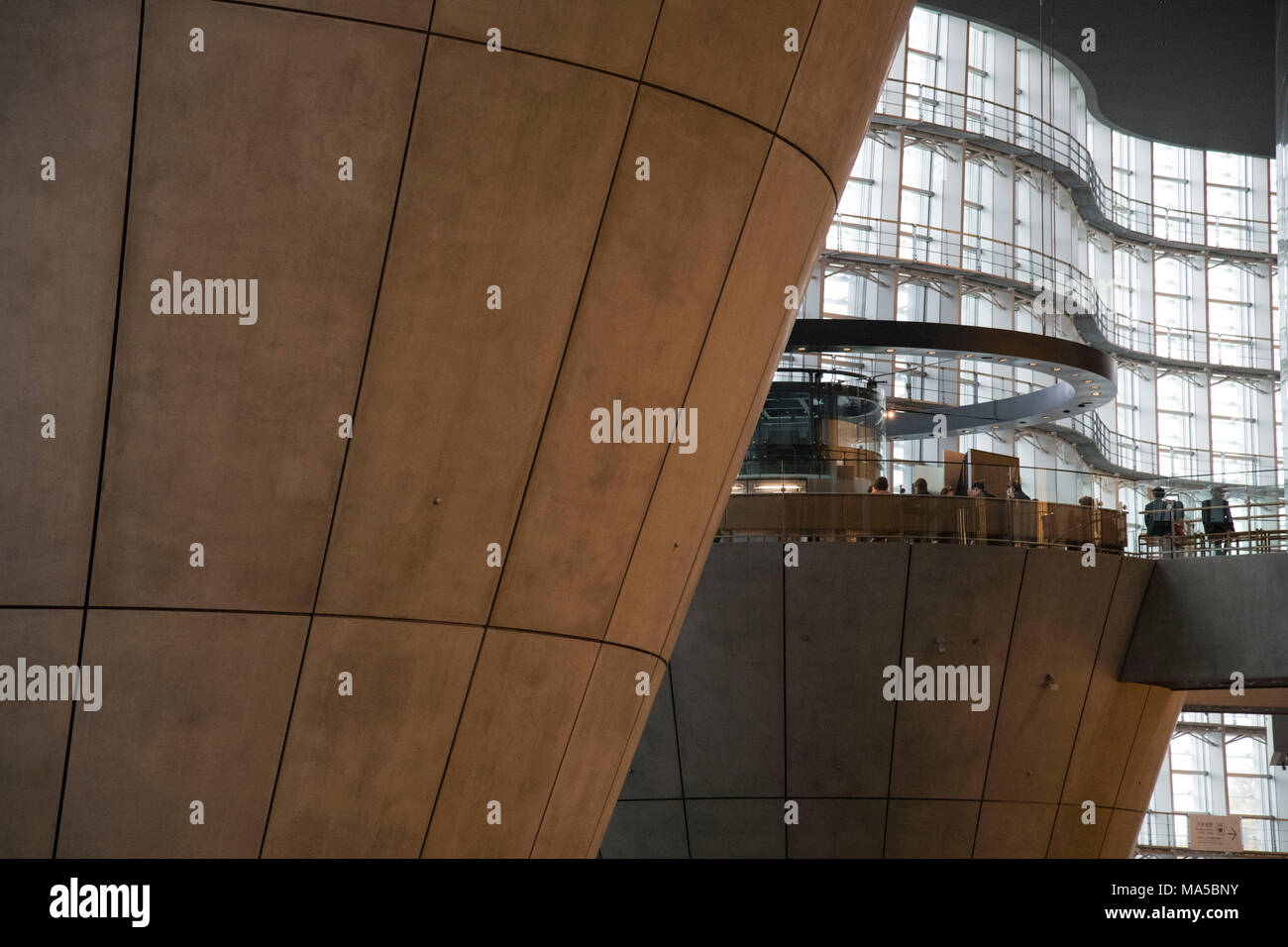 Asia, Japan, Nihon, Nippon, Tokyo, Minato, traditional Art centre Tokyo - Stock Image