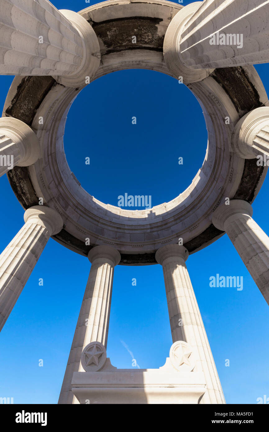 War Memorial , Ancona district, Marches, Italy - Stock Image