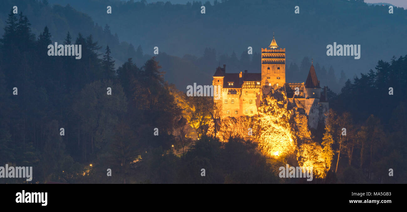 Bran Castle, Bran district, Transylvania, Romania - Stock Image