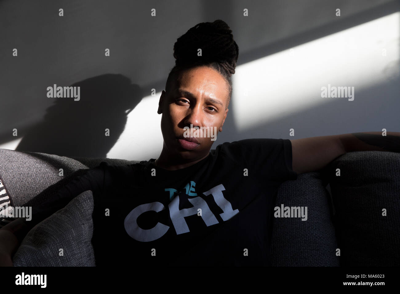 Lena Waithe in Los Angeles - Stock Image