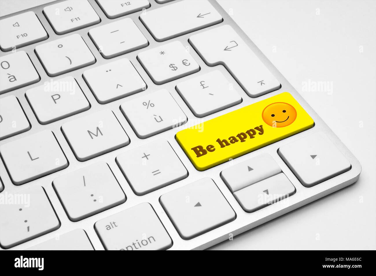 Emoticon Smiley Face Yellow Web Stock Photos Emoticon Smiley Face