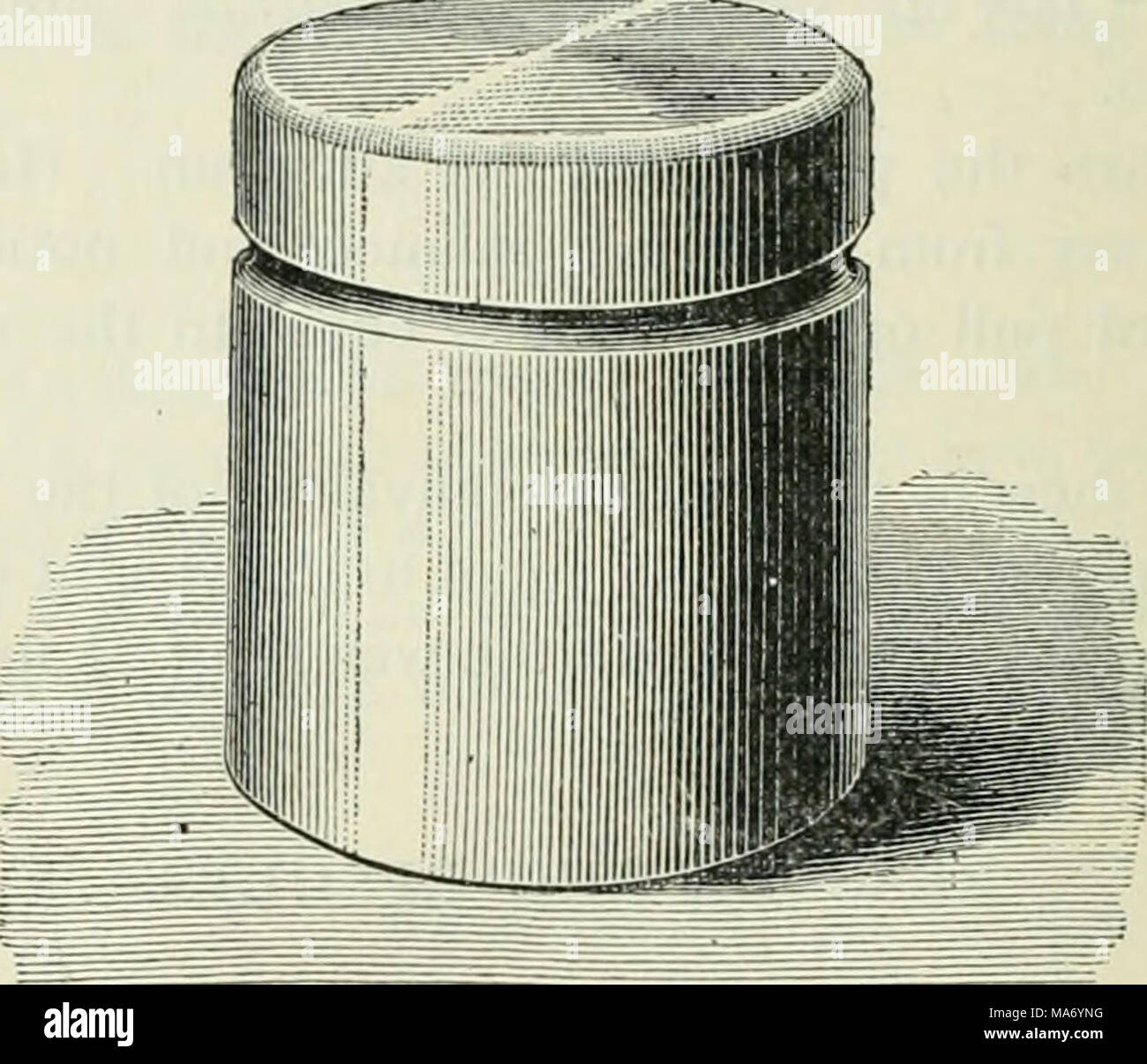 . Elementary physics and chemistry: first stage . Fig. 23.—Exact size and shape of the British standard pound, made of platinum. From Aldous's Course of Physics (Macmilian). metric system, is called the kilogram. The kilogram is the amount of matter in a lump of platinum which is kept in safety at Sevres. This standard is bigger than the British pound ; indeed it is equal to about two and one-fifth of our pounds. It is very interesting to know how the mass of a kilogram was obtained. It was agreed to give the name gram to the mass of water which a little vessel holding one cubic centimetre wou - Stock Image