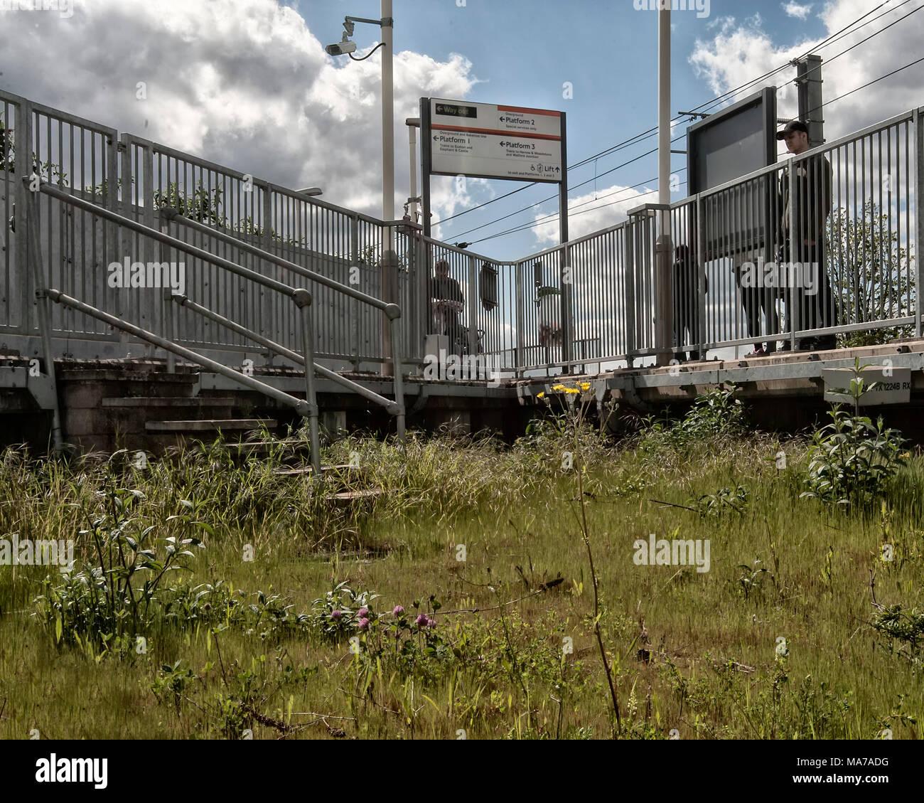 London Underground Tube Station: Willesden Junction - Stock Image
