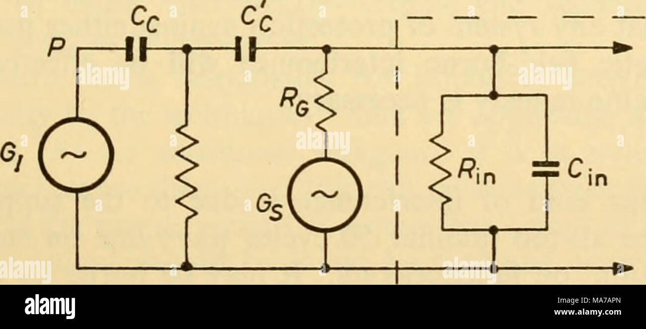 Alternating Currents Stock Photos Current Diagram Electronic Apparatus For Biological Research Figure 425 And In Practice Such Fields Are Set