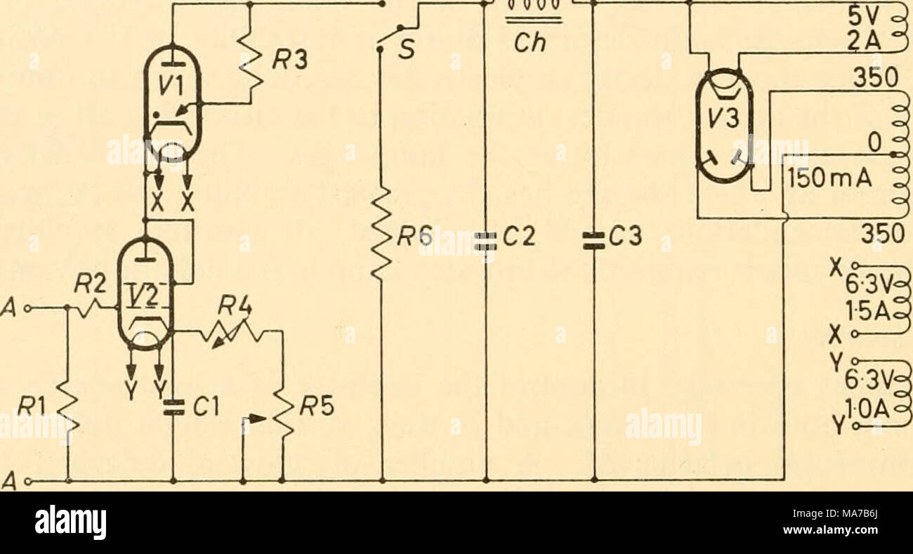 In This Circuit One Anode Is The Detector The Other Produces An Avc