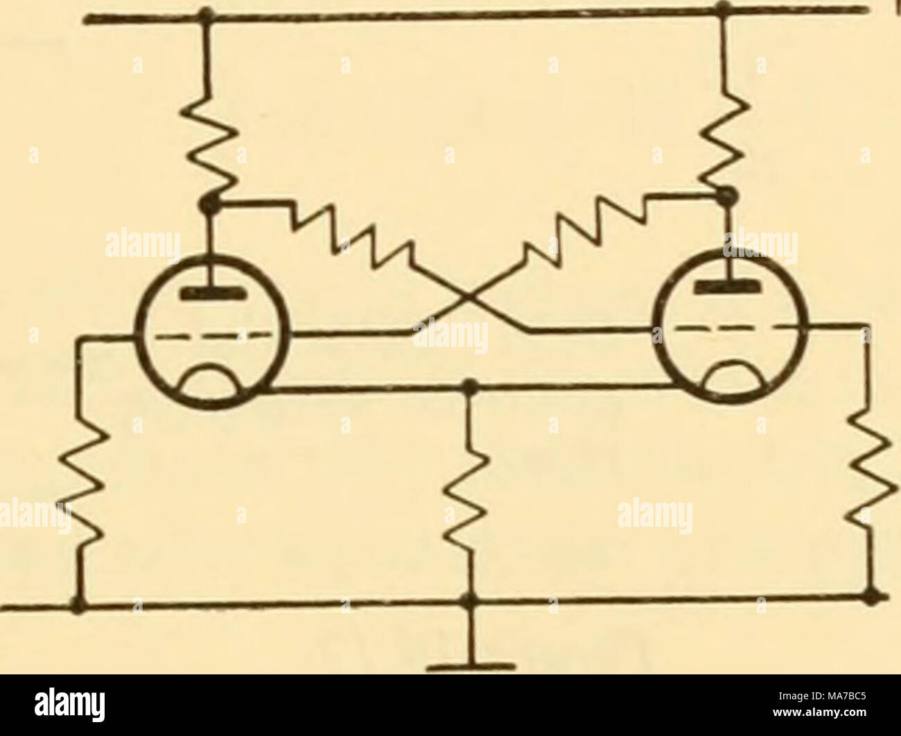 Cathode Ray Tube Stock Photos Images Page Diagram Electronic Apparatus For Biological Research Ht Figure 1610 Triangular Wave Generators The Most Important