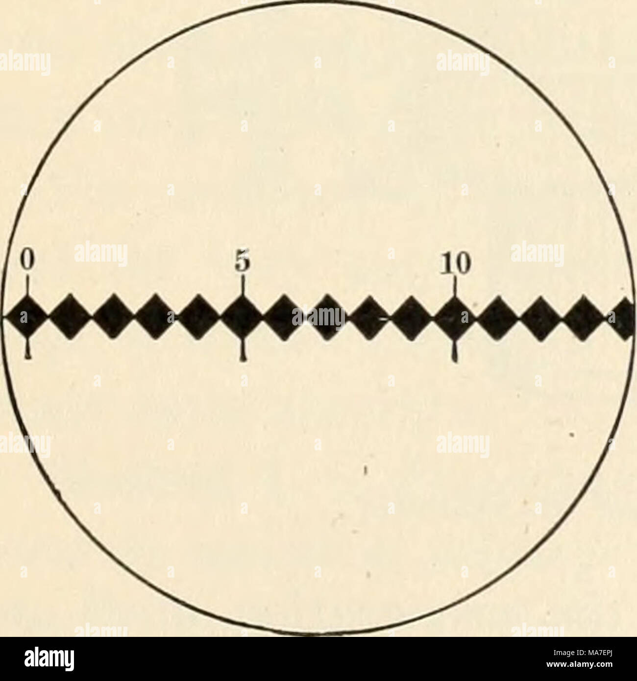 . Elementary chemical microscopy . - Stock Image