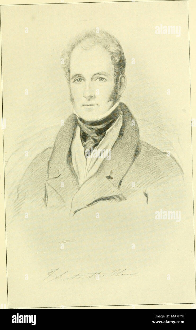 . Eighty years' reminiscences . JOHN ANSTRUTHER THOMSON OF CHARLETON (1830). (my father.) From a Fainting by Colvin Snath at CharUton. - Stock Image